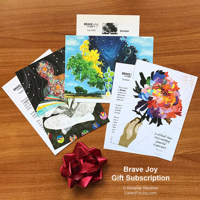 2021 Brave Joy Art & Practice - Gift Subscription