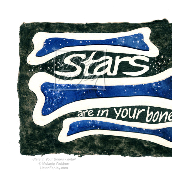 Original Art - Stars are in Your Bones