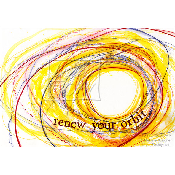 Original Art - Renew Your Orbit