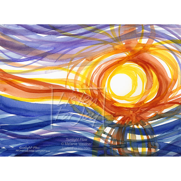 Original Art - Sunlight Flow