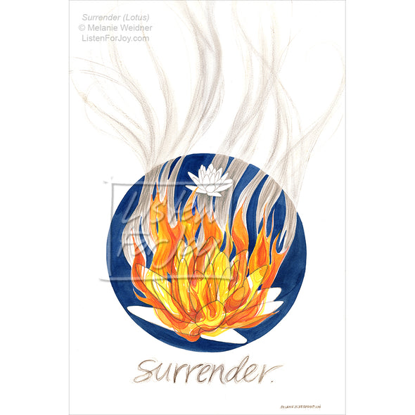 Original Art - Surrender (Lotus)