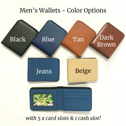 Mens Wallets - NO COD ALLOWED - ThePeppyStore