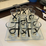 Tic - Tac - Toe Shot Glass Game - ThePeppyStore
