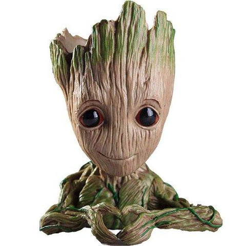 GROOT PENSTAND / FLOWER POT..