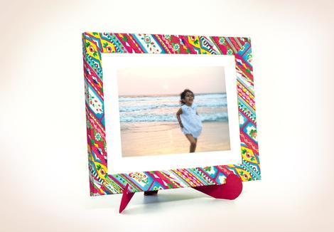 DIY Colourful Frame - ThePeppyStore