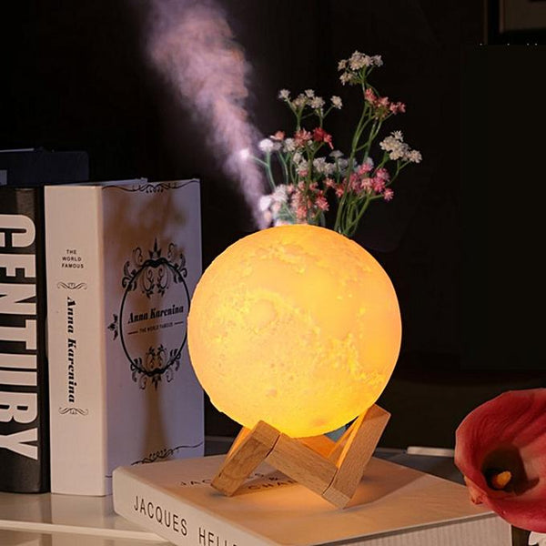Moon Lamp Light Humidifier - ThePeppyStore