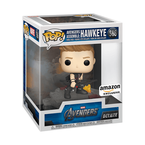 POP Deluxe: Avengers - Hawkeye (Assemble) #586    ( Pre- Order ) - ThePeppyStore