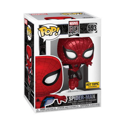 POP Marvel: Spider-Man FFH - Spider-Man (Upgraded     ( Pre- Order ) - ThePeppyStore