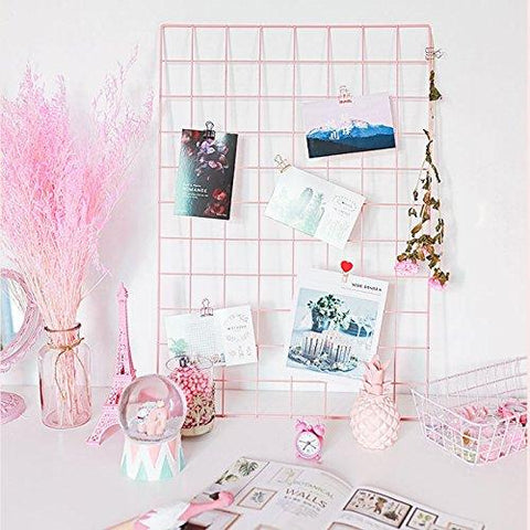 Metal Mesh Grid Photo Frame (No COD On This Product) - ThePeppyStore