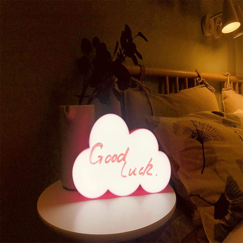 Personalized Cloud LED Light Box - ThePeppyStore