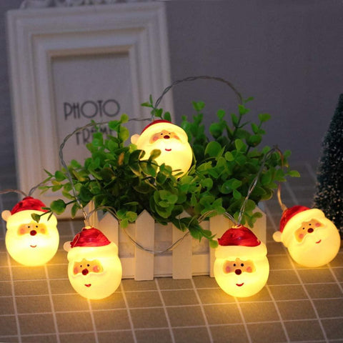 Santa Clause LED  Lights - ThePeppyStore