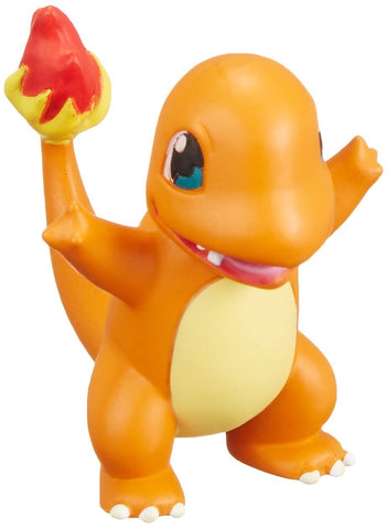 Takaratomy Pokemon Sun & Moon EX EMC-16 Mini Action Figure, Charmander - ThePeppyStore