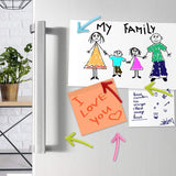 Arrow Pattern Refrigerator Magnets - ThePeppyStore