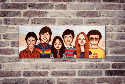 70's Show Wall Art - ThePeppyStore