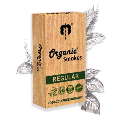 Organic Ayurvedic Smokes - Regular ( COD NOT ALLOWED ) - ThePeppyStore