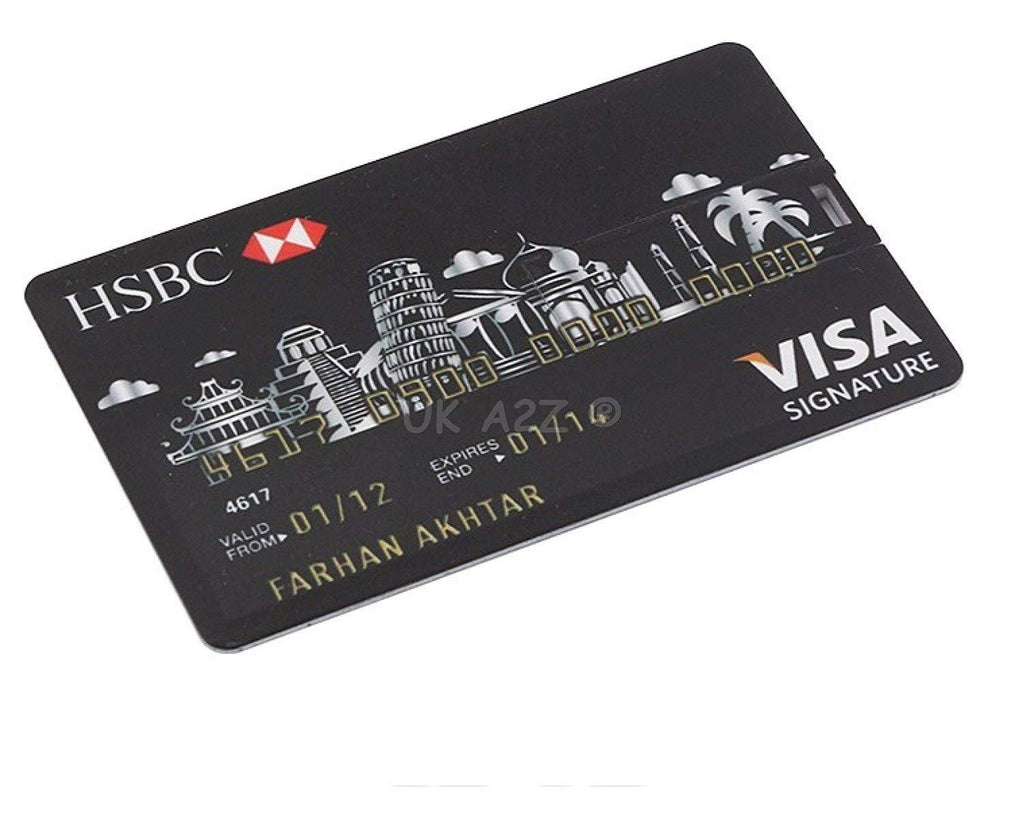 HSBC CREDIT CARD pendrive / Memory stick – ThePeppyStore