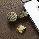Metal chinese Style USB 2.0 Fancy Pendrive