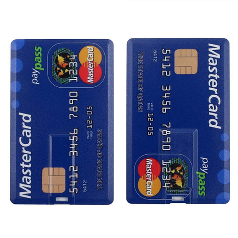 MASTER CREDIT CARD USB 2.0 Pen Drive