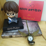 Harry Potter Bobble head + Pocket Watch + Card Combo - ThePeppyStore