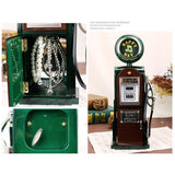 Retro Refueling Machine Musical Box - Green