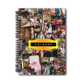 FRIENDS TV SERIES COLLAGE A5 NOTEBOOK - ThePeppyStore