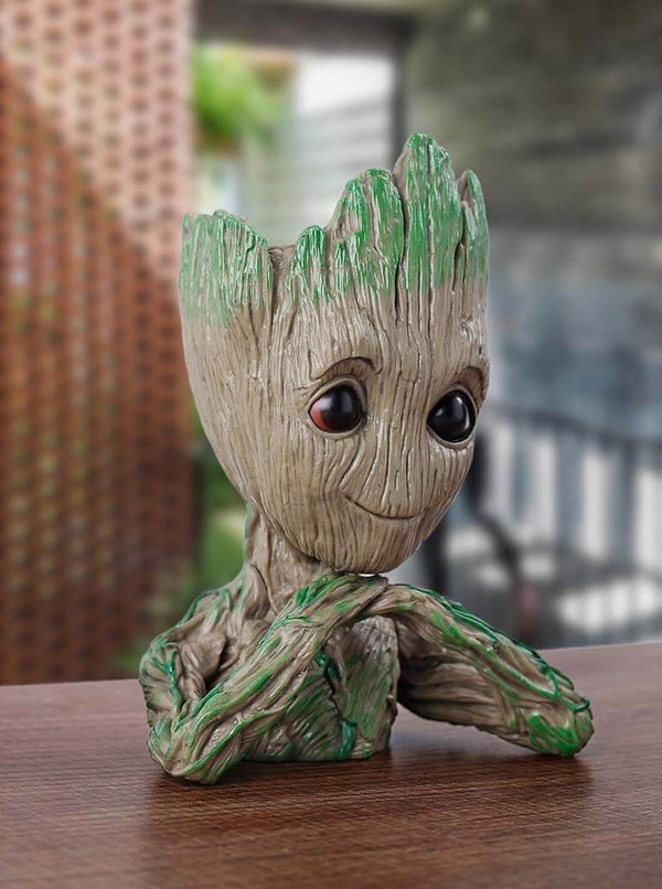 Baby Groot cutest Holder / Pen stand / Flower Pot - ThePeppyStore