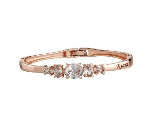 Rose Gold Name Engraved Ladies Bracelet (NO COD ALLOWED) - ThePeppyStore