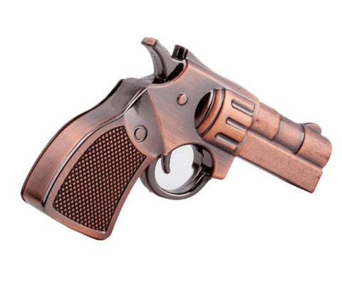 Gun Shaped Metallic Pen drive Fast Speed 2.0 Copper