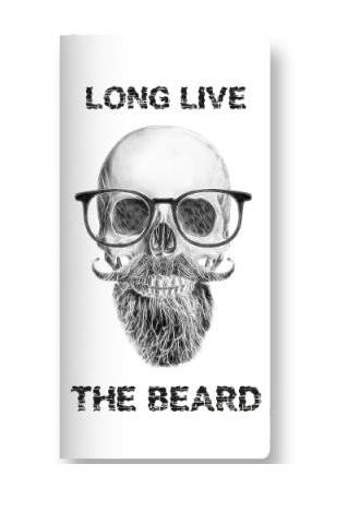 Long Live The Beard Scribble Pads - ThePeppyStore