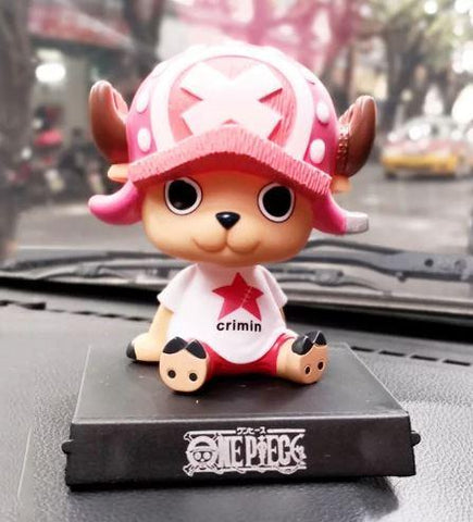 One Piece Bobble head (Pink) - ThePeppyStore