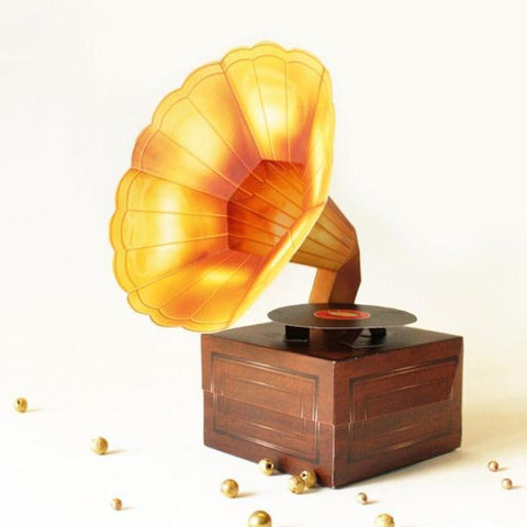 DIY MINI GRAMOPHONE BOX - REALISTIC