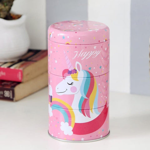 PINK UNICORN TRINKET STORAGE ORGANIZER