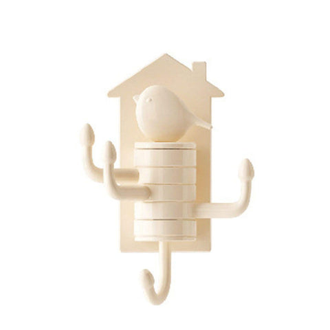 Quirky Birdy Hook Stong - Beige