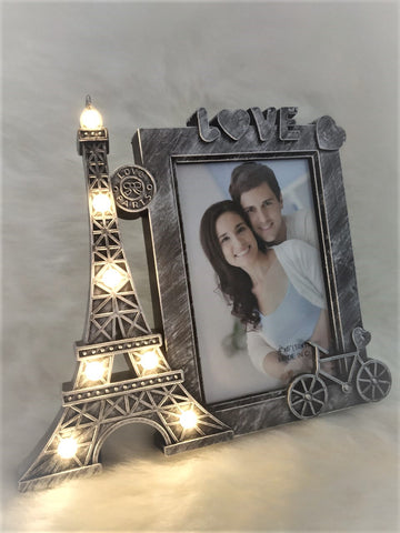 Eiffel tower Marquee Frame-Rustic Silver