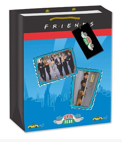 FRIENDS TV SERIES GIFT BAG 5 PIECES - BIRTHDAY DECOR/THEME PARTY - ThePeppyStore