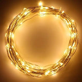 Fairy Lights - Warm White - 3 meters - Battery Operated + USB - ThePeppyStore