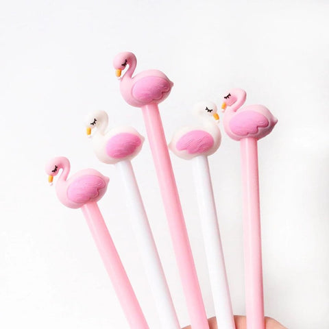 Flamingo pen Set of 2