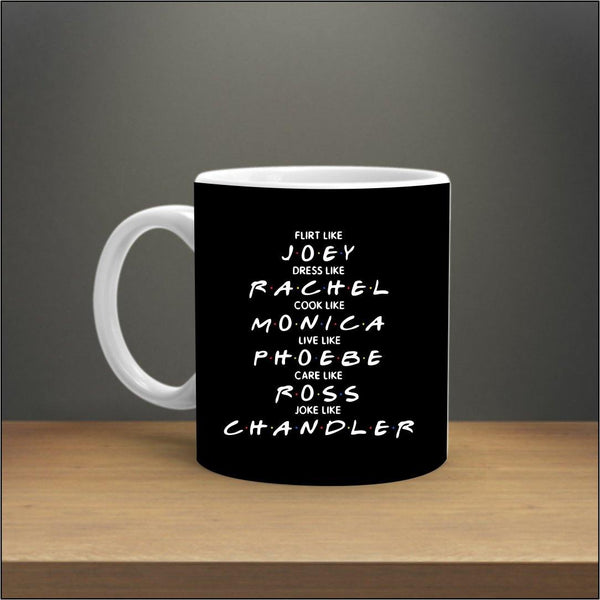 FRIENDS ALL CHARACTER MUG - ThePeppyStore