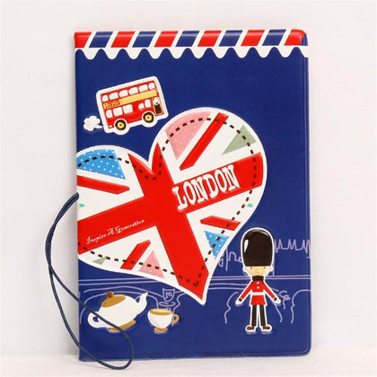 London Passport Cover - ThePeppyStore