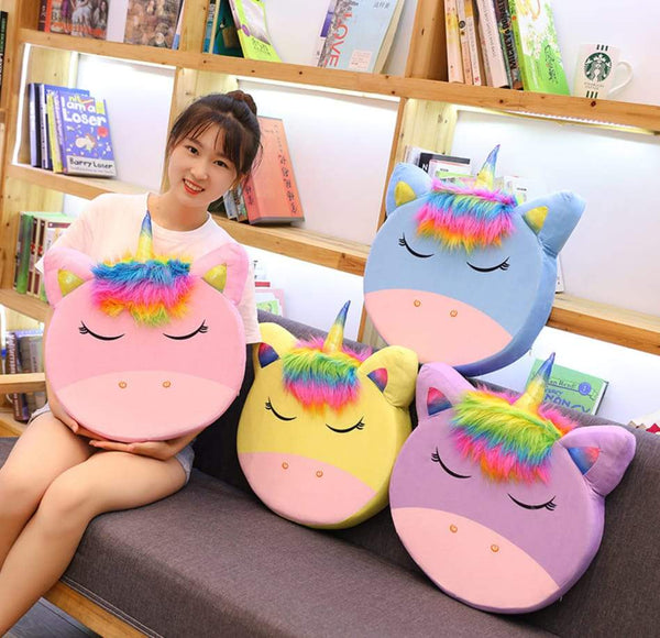 Unicorn Soft Pillows - ThePeppyStore