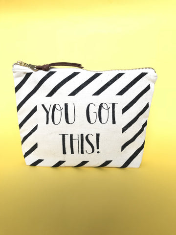 EVERYDAY ESSENTIAL POUCH - YOU GOT THIS