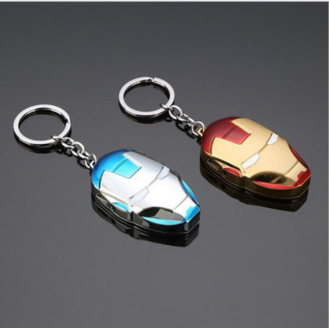 Iron Man Keychain Lighter - Red