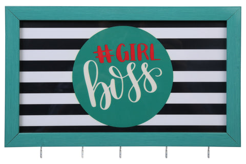 Girl Boss Teal - Jewellery Hanger