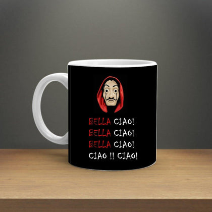 MONEY HEIST BELLA CIAO PROFESSOR MUG