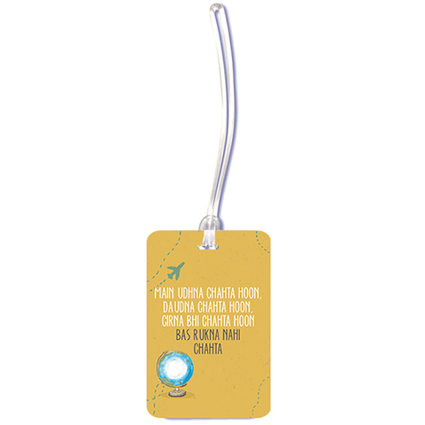 Travel Quote Luggage Tag - ThePeppyStore