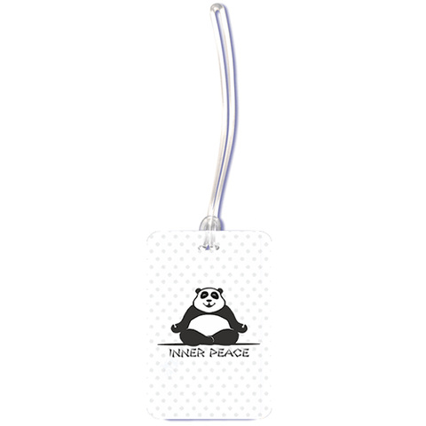Inner Peace Luggage Tag - ThePeppyStore