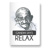 Gandhi Says relax Pocket Diary