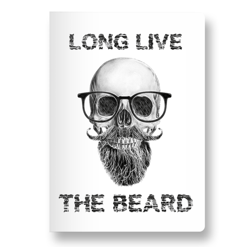 Skeleton Beard Pocket Diary