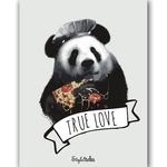 True love Pizza Magnet