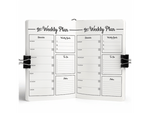 Believe Yourself Weekly Planner